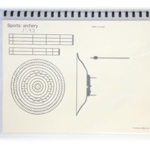 Tactile Graphics – Sports
