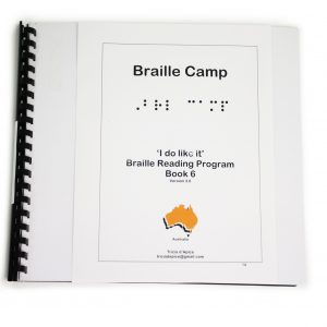 I Do Like It – Level 6 – Braille camp